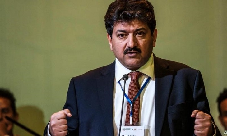 Hamid Mir's removal from Geo News has damaged Pakistani society and the Military Establishment more