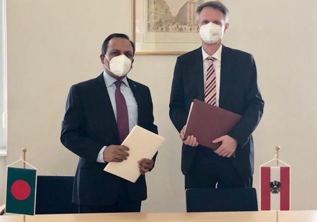Bangladesh, Austria sign Air Services Agreement