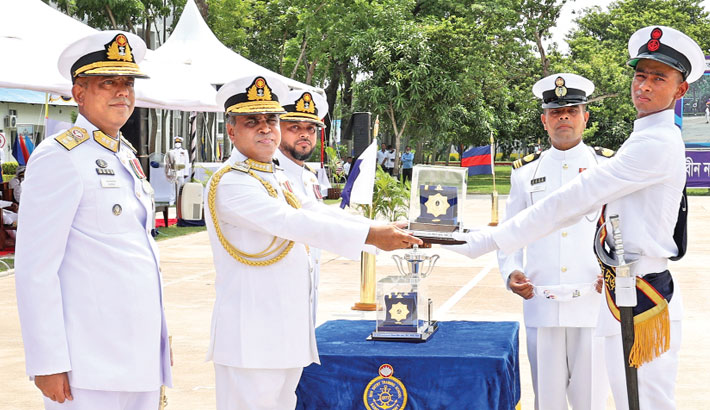Navy sailors' passing out parade held