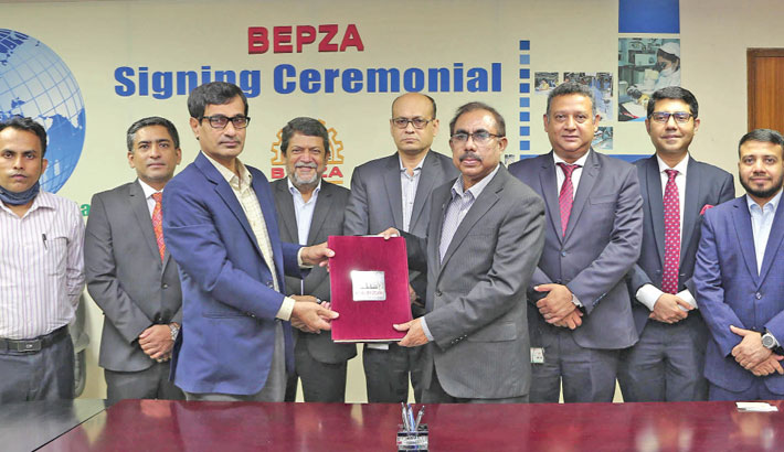 MTB signs agreement with BEPZA