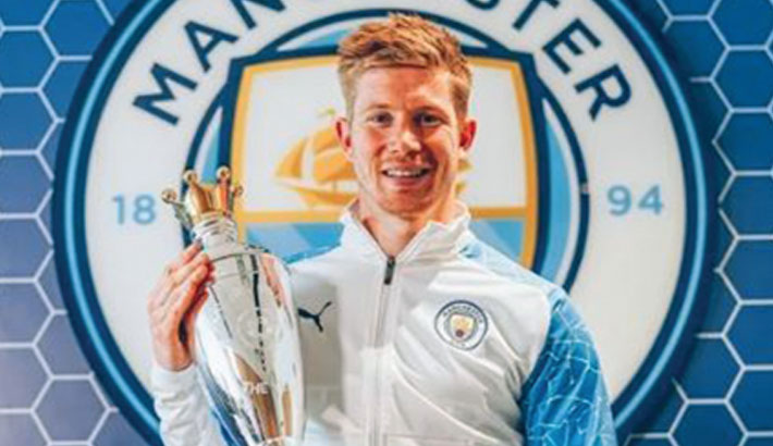 De Bruyne crowned PFA player of the year