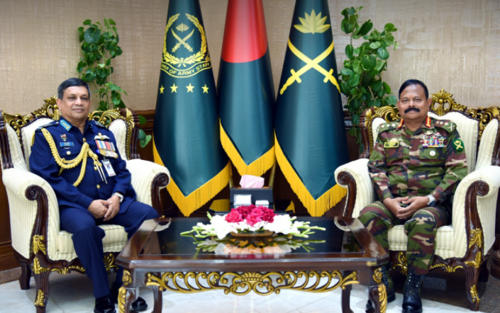 Outgoing Chief of Air Staff calls on Chief of Army Staff