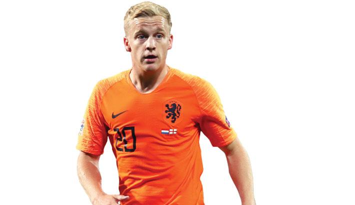 Dutch lose Van de Beek for Euro