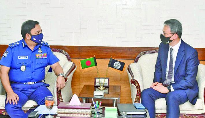 Korean ambassador meets IGP in city