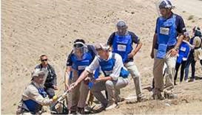 Gunmen kill 10 mine-clearing workers in Afghanistan