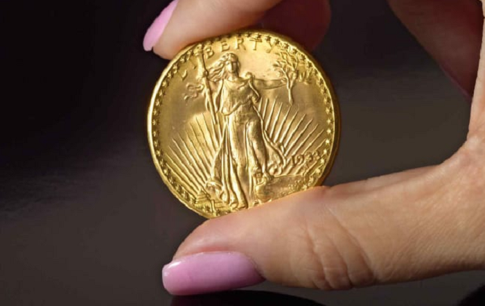 Rare 'Double Eagle' gold coin sells for a record $18.9M