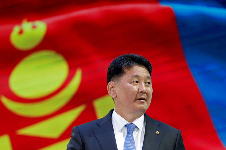 Former PM wins Mongolia's Covid-hit presidential election