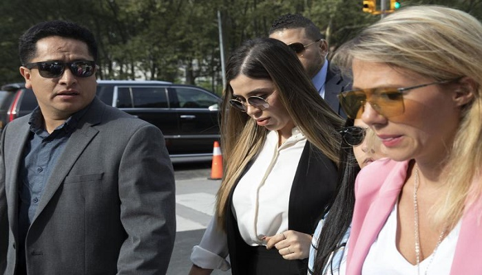 Wife of 'El Chapo' to plead guilty to drug trafficking: source