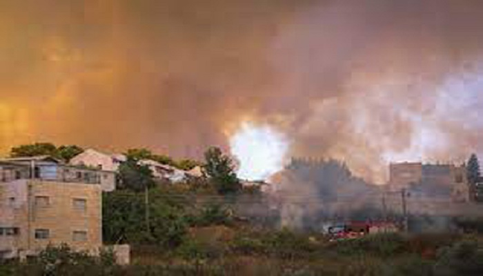 Fire near Jerusalem contained after villages evacuated