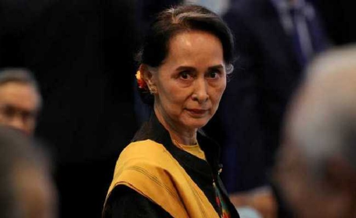 Myanmar junta hits Suu Kyi with graft charges