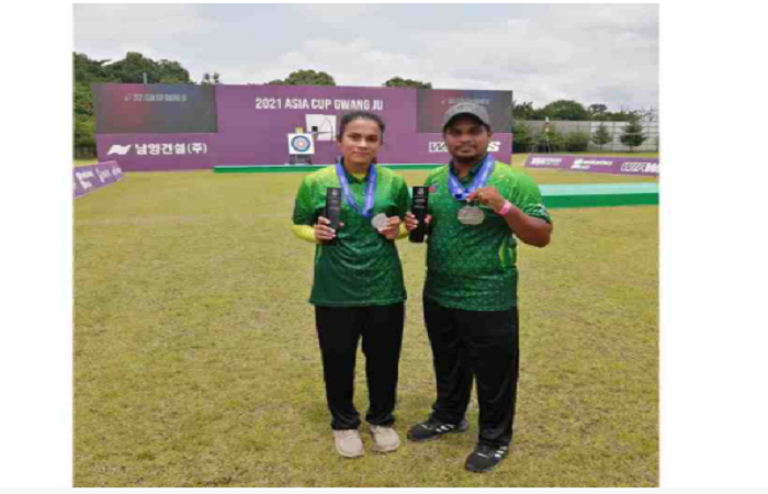 Bangladesh archers bag two silvers in Asia Cup