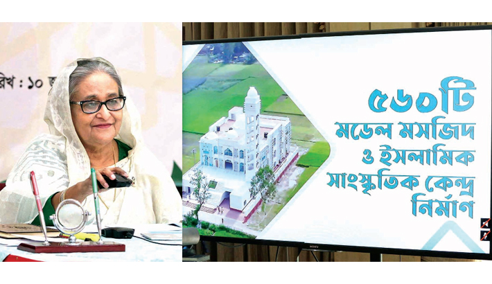 Model mosques to raise awareness about social menaces: PM