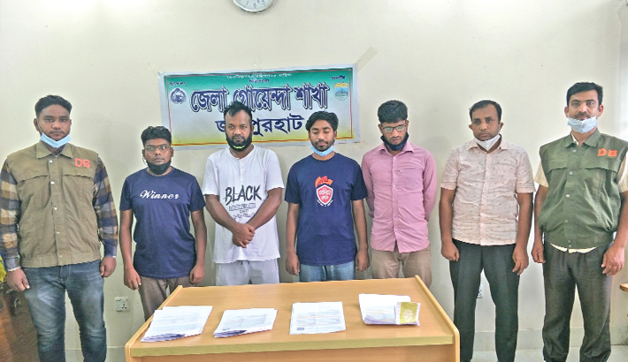 Five persons arrested for selling train tickets on black market