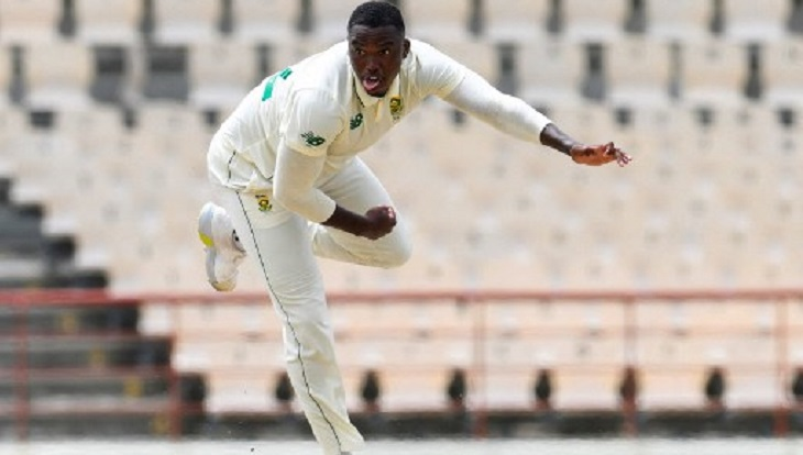 Ngidi takes five wickets in rout of West Indies in 1st Test