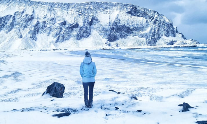 The woman who spent lockdown alone in the Arctic