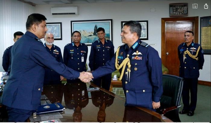 New Air Chief Air Vice Marshal Shaikh Abdul Hannan takes over BAF command