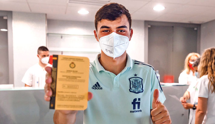 Spain players vaccinated