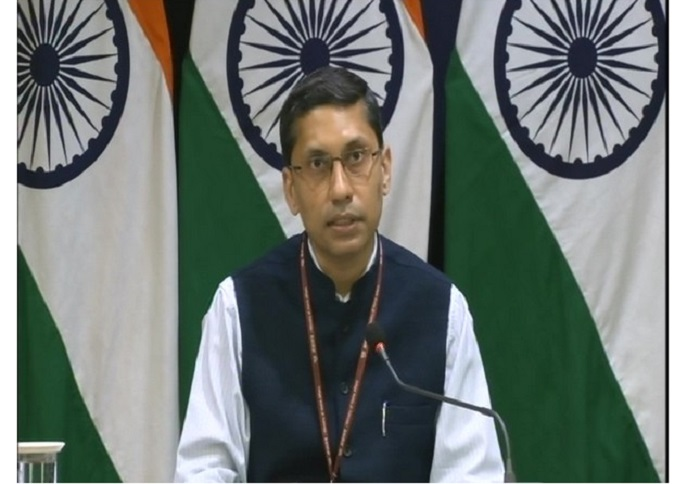 Pakistan trying to malign India, material seized in Bokaro not uranium: MEA