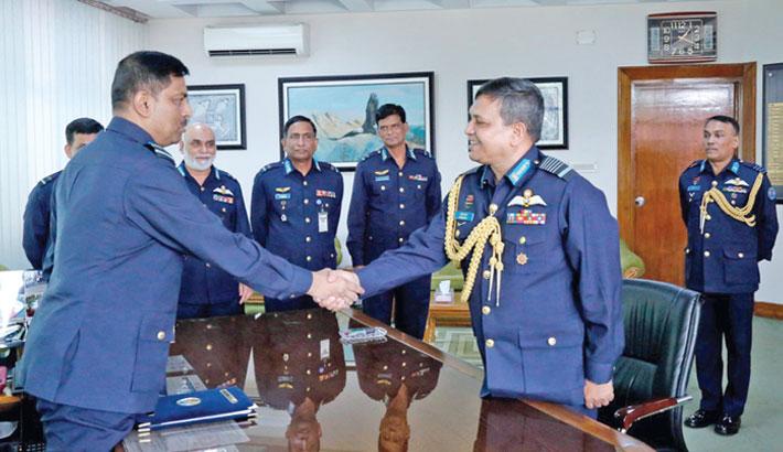 Abdul Hannan takes over as BAF chief