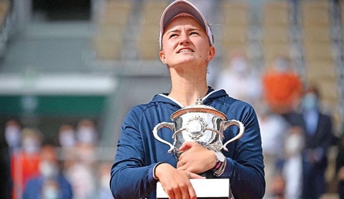 Krejcikova clinches French Open title