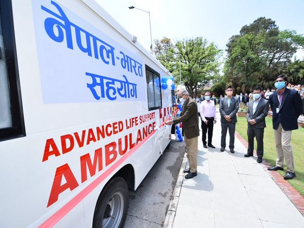 Covid-19: India provides ventilators, ambulances to Nepal