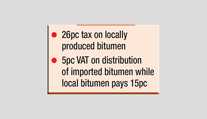 High tax on local production; import gets tax waiver