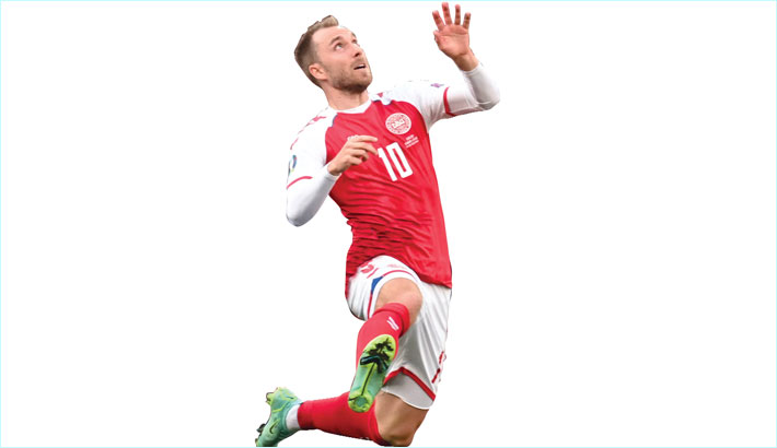 'No explanation' yet for Eriksen's Euro collapse: team doctor