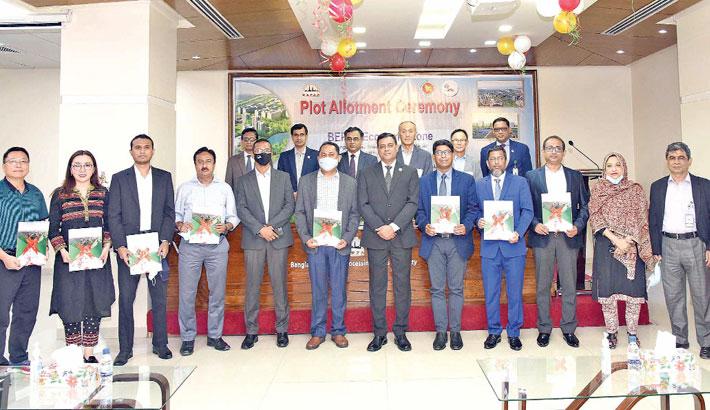 BEPZA begins allotting plots at Bangabandhu Shilpa Nagar
