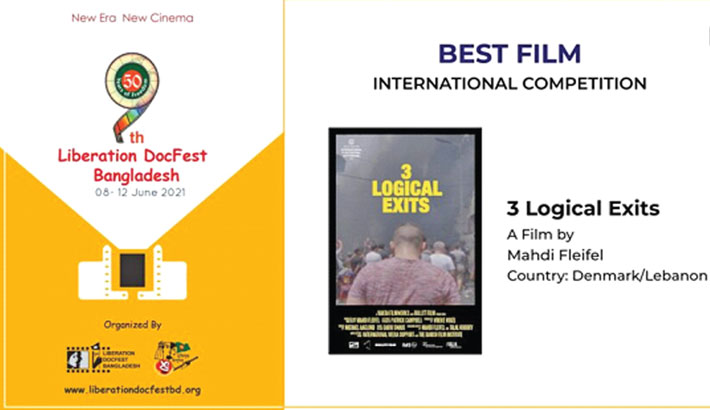 '3 Logical Exits' wins top prize at 9th Liberation DocFest