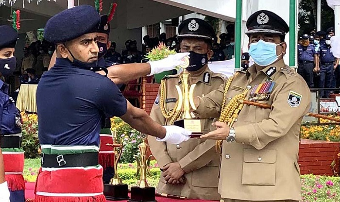 Passing out parade held at Bangladesh Police Academy