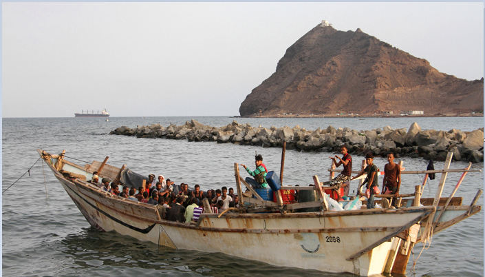 Bodies of 25 migrants recovered off Yemen after boat capsized