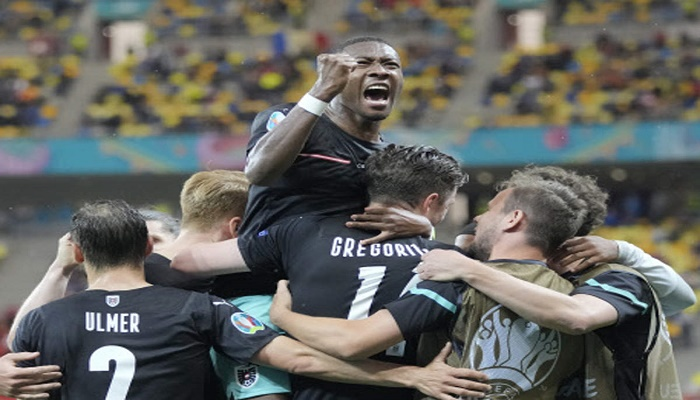 Austria see off debutants North Macedonia to secure first ever Euro win