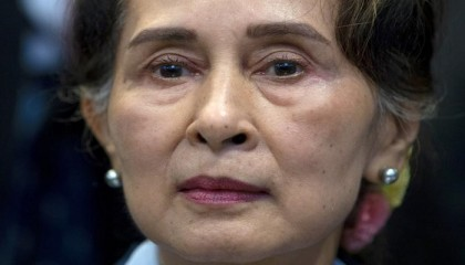 Ousted Myanmar leader on trial; critics say charges bogus