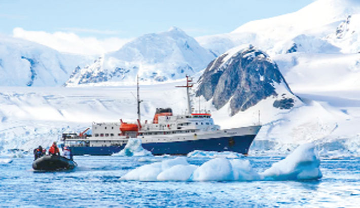 Pacific islanders likely found Antarctica first