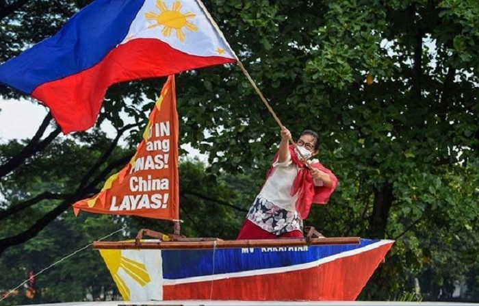 Rally protesting China incursions