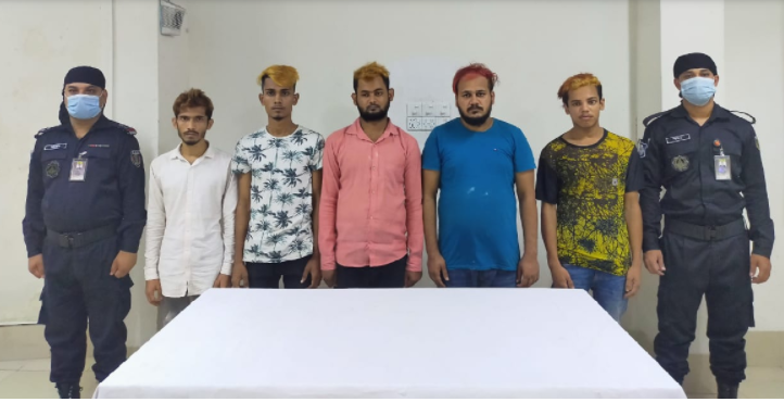 RAB arrests youth gang members who harrassed driver on Hanif flyover
