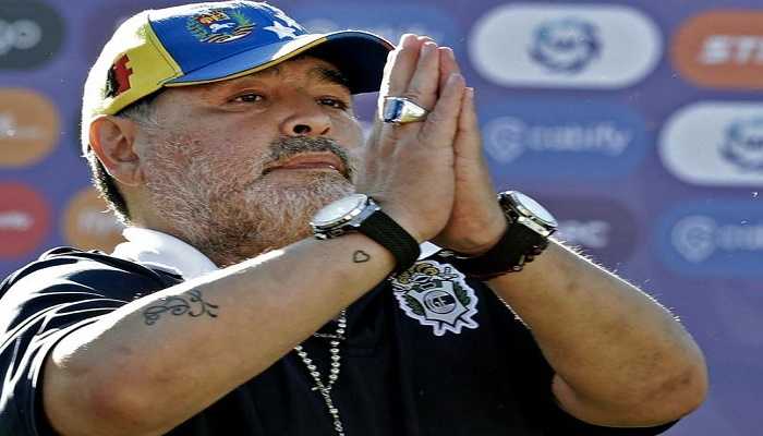 Maradona's nurse first to be questioned over his death