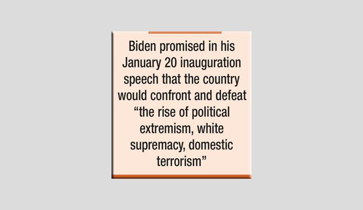 Washington unveils plan to combat domestic terrorism