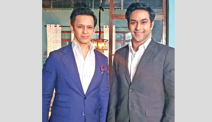 Noble, Amaan Reza in a TVC for first time