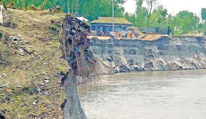 River erosion wreaks havoc in Lalmonirhat