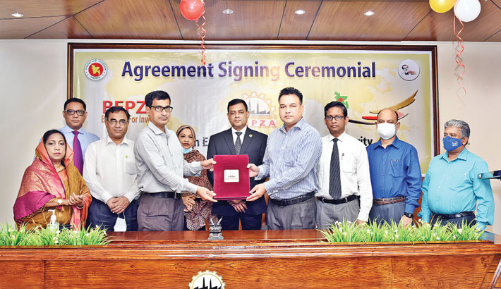 BEPZA signs MoU with DoE to expedite one stop service