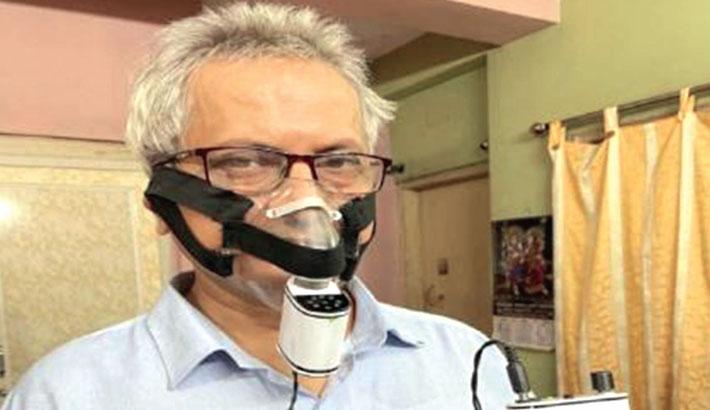 Scientist makes 'pocket ventilator' for Covid patients