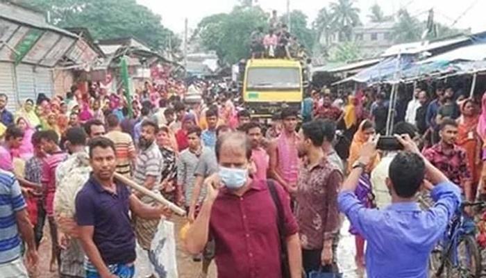 Female RMG worker killed in Gazipur road crash