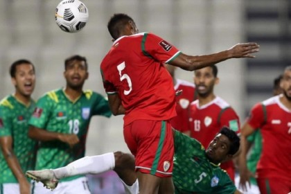 Bangladesh finish WC qualifiers campaign losing 3-0 to Oman
