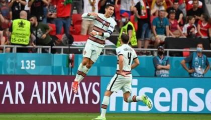 Ronaldo breaks Euro goalscoring record as Portugal beat Hungary