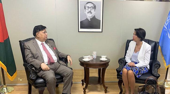 FM seeks UN roadmap for Rohingya repatriation