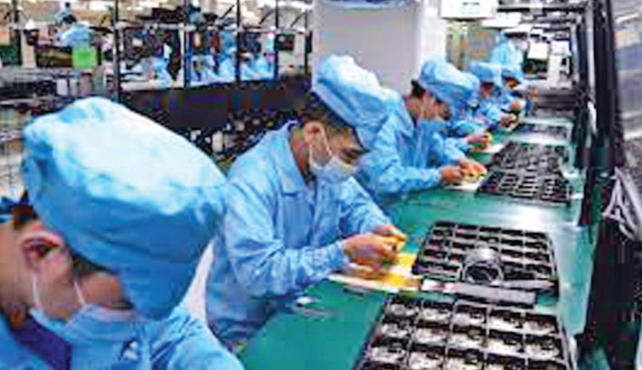 China's factory output misses expectations