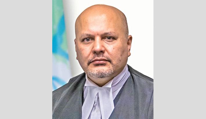Karim Khan sworn in as ICC's chief prosecutor