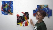 Art becomes form of protest against Olympics
