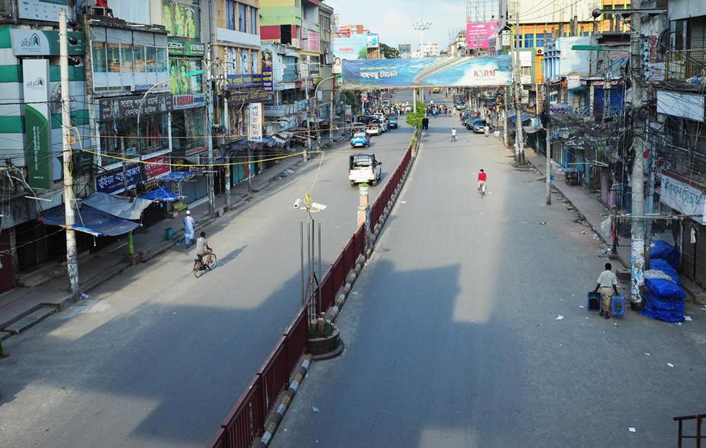Lockdown in Rajshahi extended by a week